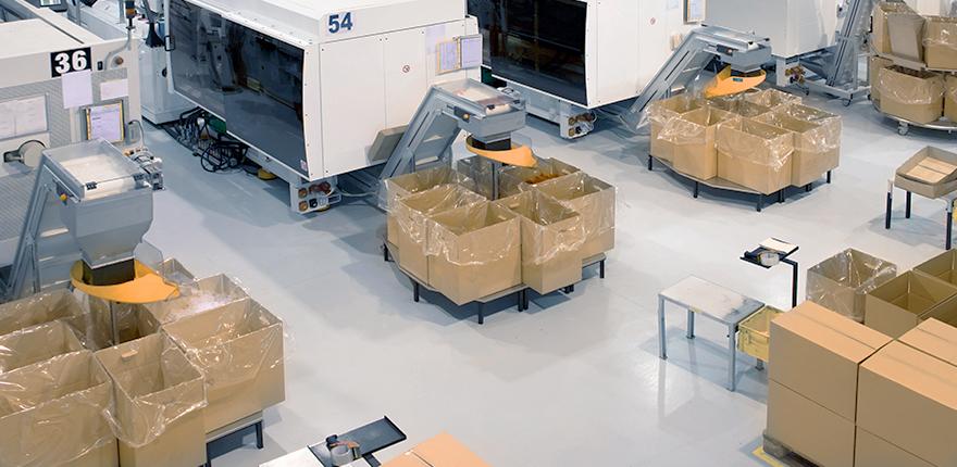 한국네트웍스, (구)엠프론티어, Hankook Networks – 물류자동화, Logistics Automation, 공정라인 물류자동화